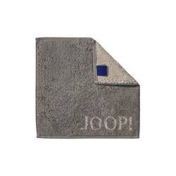 JOOP! Seifenlappen Joop! Classic Doubleface in graphit, 30 x 30 cm