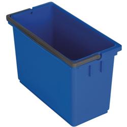 VERMOP Equipe Eimer, 8 Liter, Für den Equipe Reinigungswagen, Farbe: blau