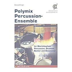 Polymix: Percussion-Ensemble. Georg Edlinger  - Buch
