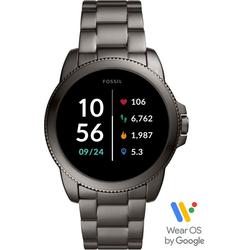 Fossil Smartwatches GEN 5E SMARTWATCH, FTW4049 Smartwatch (Wear OS by Google, mit individuell einstellbarem Zifferblatt)