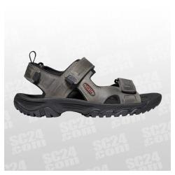 Targhee III Open Toe Sandal grau schwarz