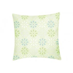 Daisy Flower Outdoor Kissen blau - grün