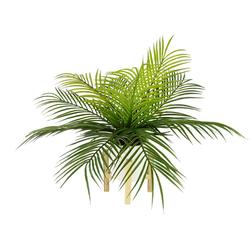 Kunstpflanze Farnbusch, I.GE.A., Höhe 40 cm, Im Topf mit Gestell