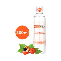 Waterglide 300 ml '2:1 Massage & Gleitgel Guarana'