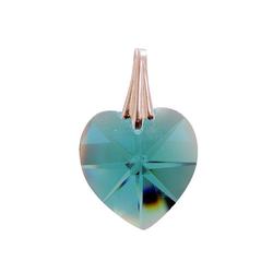 Adelia´s Amulett, Kristallherz Hellblau