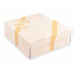 Kuchenkarton - Tortenkarton mit Vollfarbdruck , 28x28x10cm, 100 Stk.