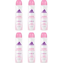 """Deo-Spray """"Control"""", Spar-Set 6-tlg., Deodorante, 96011638-0 weiß 900 ml weiß"""