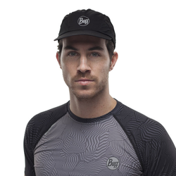 Buff Pro Run - Herren-Trail Running-Kappe Black One Size