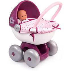 Puppenwagen rosa/lila