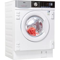 AEG Einbauwaschmaschine L7FBI6480, Waschmaschine, 13565435-0 weiß weiß