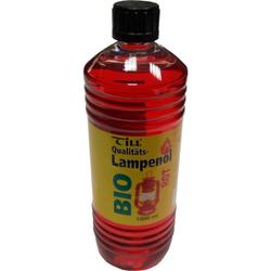 Till Bio Lampenöl, Qualitätsöl auf Bio-Basis, 1 Liter - Flasche, rot
