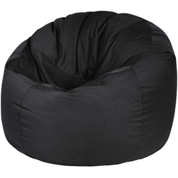 OUTBAG Sitzsack Donut Plus, Outdoor-Sitzsack schwarz