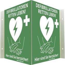 MEDX5 AED-Z-WISCHI AED-Schild