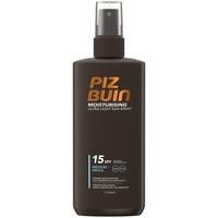 Piz Buin Moisturising Ultra Light  Sun Spray LSF 15 200 ml