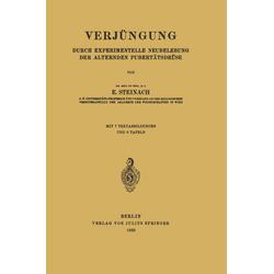Verjüngung als Buch von E. Steinach
