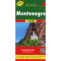Montenegro 1 : 150 000