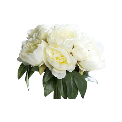 Päonienbouquet in cream, 30 cm