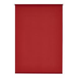 Seitenzugrollo Klemmfix-Rollo, K-HOME, Lichtschutz, ohne Bohren, 1 Stück rot 40 cm x 150 cm