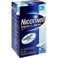 Novartis Nicotinell Cool Mint 2 mg Kaugummi 96 St.