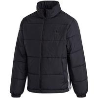 adidas Padded Stand Collar Puffer Jacket black M