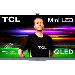 TCL 55C825X1 QLED Mini LED-Fernseher (139,7 cm/55 Zoll, 4K Ultra HD, Android TV, Smart-TV, Android 11, Onkyo-Soundsystem)