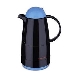 """Rotpunkt Christine 200, electric kingfisher Thermokanne Schwarz, Blau 500 ml 200-16-06-0 Schwarz"""",""""Blau"""
