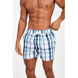 Next Badehose Karierte Schwimm-Shorts rosa M