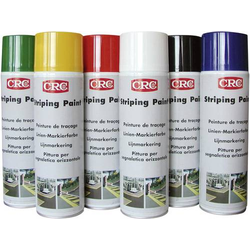 CRC 11673-AA Linien-Markierfarbe, dauerhaft Schwarz 500ml