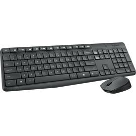 Logitech MK235 Wireless Tastatur DE Set (920-007905)
