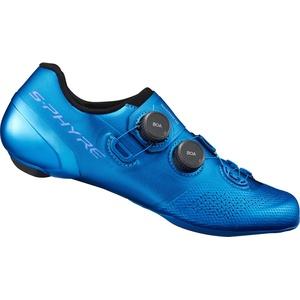 Shimano SH-RC9B S-phyre Schuhe Spd-sl blue (B01) 46 wide