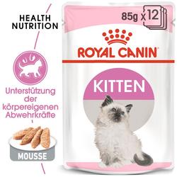ROYAL CANIN KITTEN Nassfutter in Mousse für Kätzchen 85 g