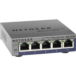Netgear GS105E Netzwerk Switch 5 Port 1 GBit/s
