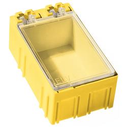 ELV 10er-Set SMD-Sortierbox, Gelb, 23 x 31 x 54 mm