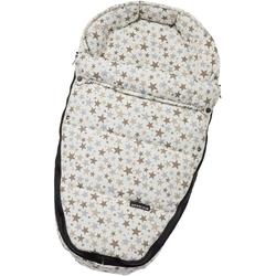 Gesslein Babywanne Baby Nestchen, beige Sterne, für Kinderwagenwannen, Tragetaschen, Babyschalen und den Sportwagensitz des Kinderwagens