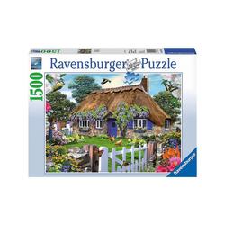 Ravensburger Puzzle Puzzle 1500 Teile, 80x60 cm, Cottage in England, Puzzleteile