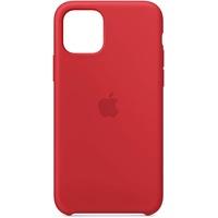 Apple iPhone 11 Pro Leder Case rot