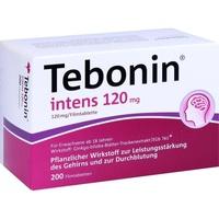 Dr Willmar Schwabe GmbH & Co KG Tebonin intens 120 mg Filmtabletten 200 St.