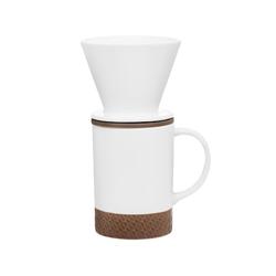Maku Maku Solo Keramik Kaffeetassen mit Filterset