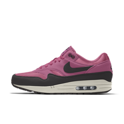 Nike Air Max 1 By You personalisierbarer Schuh - Pink, size: 41