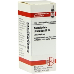 ARISTOLOCHIA CLEMATITIS D 12 Globuli 10 g