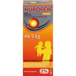 NUROFEN Junior Fiebersaft Orange 2% 150 ml