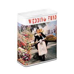 LOGOSHIRT Spardose mit Hochzeits-Motiv bunt