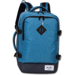 BestWay Bags Reiserucksack D2ORI103B Bestway blauer Tagesrucksack Bordgepäck, Herren, Damen Flugbegleiter, Businessrucksack Polyester, blau, Größe ca. 40cm
