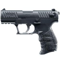 Walther Airsoft Pistole Walther P22Q mit Metall Schlitten, Gewicht 250 g (Größe: 6 mm BB)
