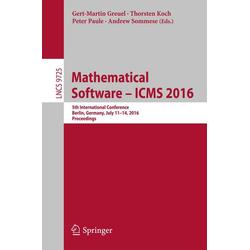 Mathematical Software - ICMS 2016