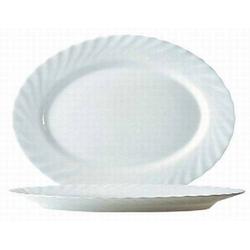 Platte oval 29 cm Form Trianon uni weiß - ARCOPAL