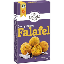 Curry-Kokos Falafel bio