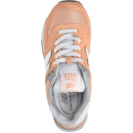 NEW BALANCE WL574 light orange-white/ white, 37.5