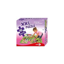 Noris Puzzle XXL Puzzle, 45 Teile, 64x44 cm, Ferien auf dem, Puzzleteile