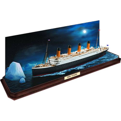 Revell 05599 RMS Titanic + 3D Puzzle Eisberg Schiffsmodell Bausatz 1:600